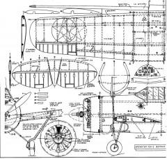Brewster F2A2 Buffalo a model airplane plan