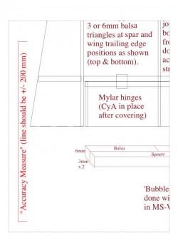 bubbles a4wi model airplane plan
