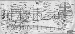 Bucker Bu133 Jungmeister model airplane plan