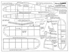 Cadet Skyleada. model airplane plan