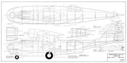Catalina-1 model airplane plan