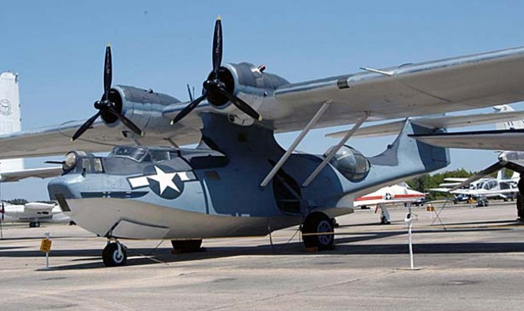Catalina PBY-5A Flying Boat model airplane plan