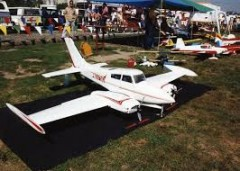 Cessna 310 twin. model airplane plan