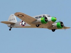 CESSNA UC-78 (T-50) model airplane plan