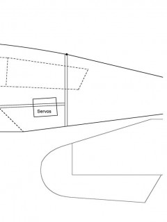 CITA2001 model airplane plan