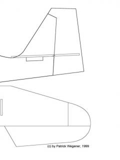 CITA3001 model airplane plan