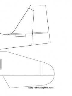 CITA3001 model airplane plan