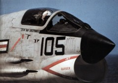 Vought F8U-1 Crusader model airplane plan