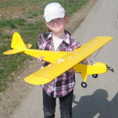 Piper Cub 1:10 Semiscale model airplane plan