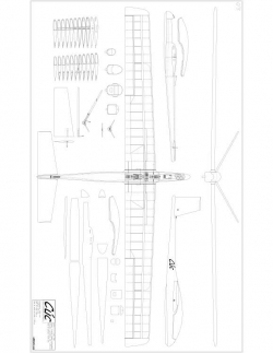 Cuc Model 1 model airplane plan