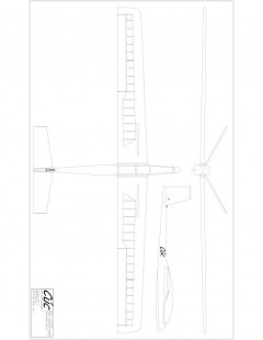 Cuc TR Model 1 model airplane plan