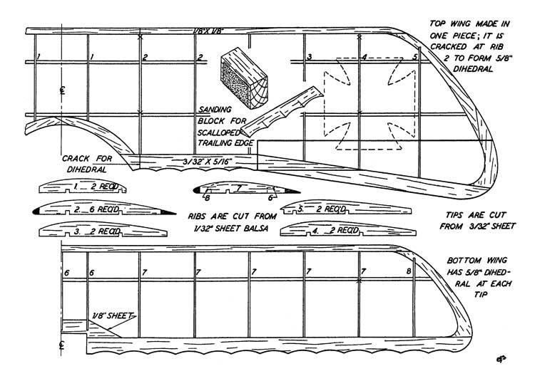 d5a 3 model airplane plan