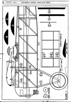 d8 1 model airplane plan
