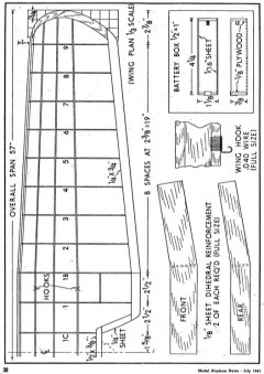 d8 p4 model airplane plan