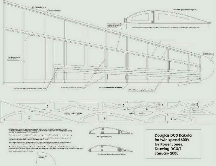 dc002 model airplane plan