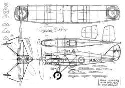 de havilland dh-77 - bruning model airplane plan