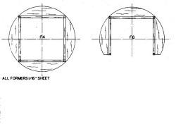 DH9F46 model airplane plan