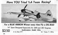 Dil-Bod model airplane plan