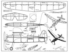 dipper 3 model airplane plan