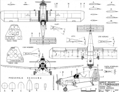 dromader model airplane plan