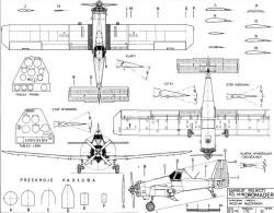 dromader model airplane plan