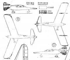 duck1a model airplane plan