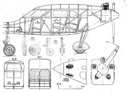 duck3 model airplane plan