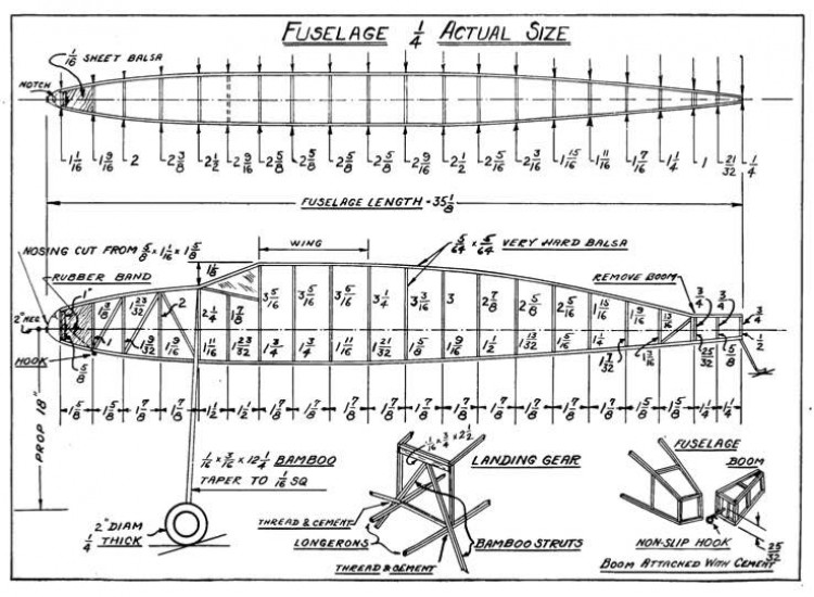 duplexp1 model airplane plan