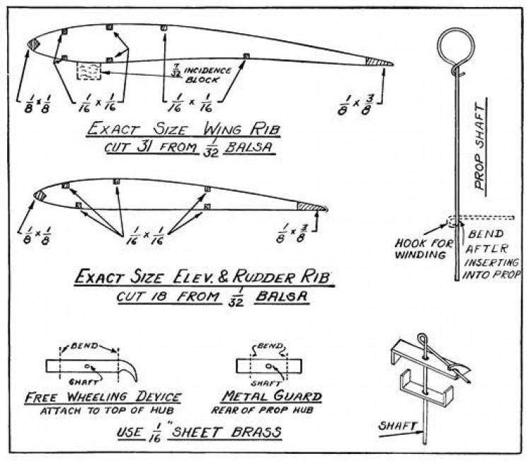 duplexp4 model airplane plan
