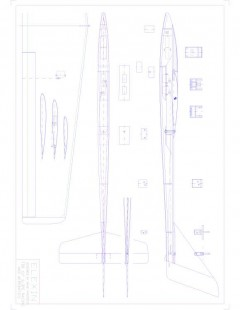elexin Model 1 model airplane plan
