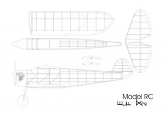 elf x2 model airplane plan