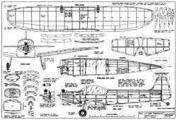 emeraude model airplane plan