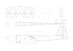 extra300-1 model airplane plan