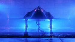 Lockheed F-117 Nighthawk model airplane plan