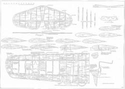 Fairchild PT19 p1 model airplane plan
