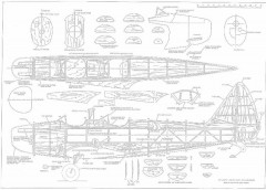 Fairchild PT19 p2 model airplane plan
