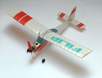 FILIP model airplane plan