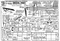 fillon GREISCH THUET model airplane plan