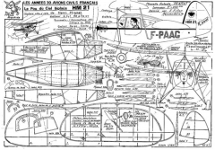 fillon HM 21 model airplane plan