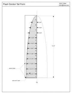 flashgordontail model airplane plan