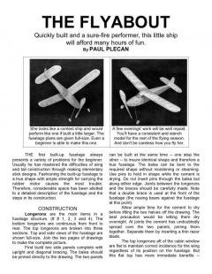 flyabout model airplane plan