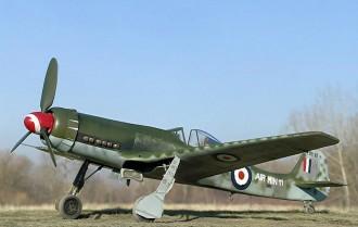 Focke Wulf TA152h Model 1 model airplane plan