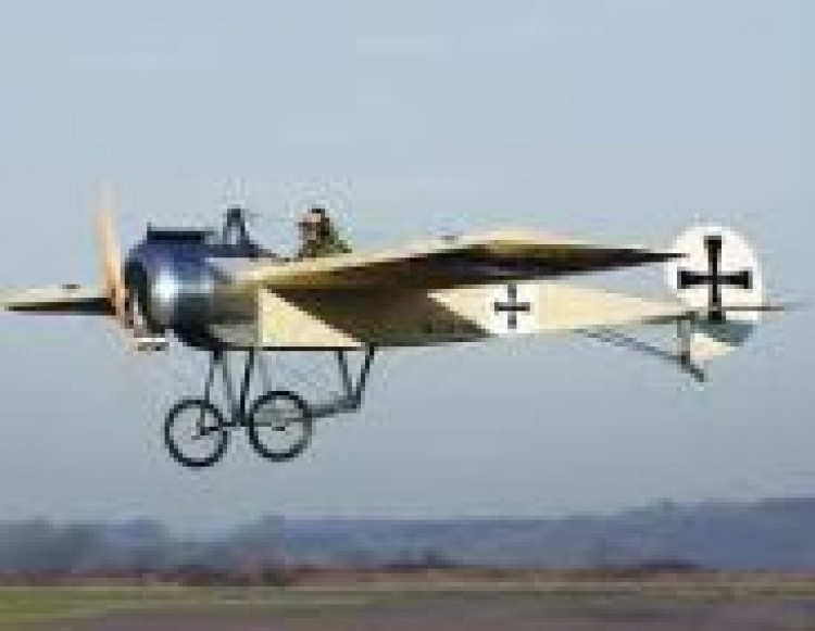 Fokker Eindekker model airplane plan