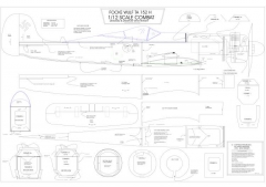 fw152 1 model airplane plan