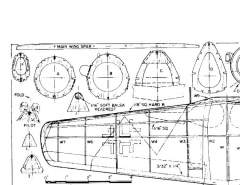 fw190d9 model airplane plan
