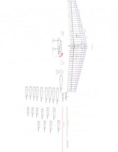 fwing Model 1 model airplane plan