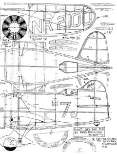 gbr2 model airplane plan