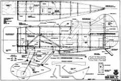 geebee1a model airplane plan