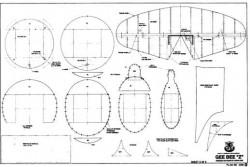 geebee3 model airplane plan