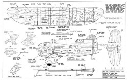 geebee profile model airplane plan